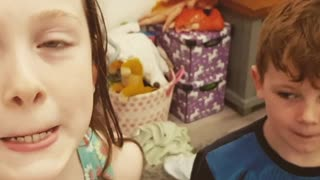 Infant Admits to Stinky Surprise - Video