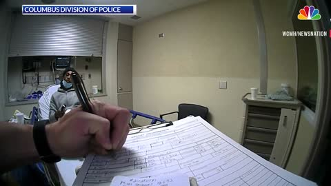 Police body-camera video captures fatal shooting at Ohio hospital