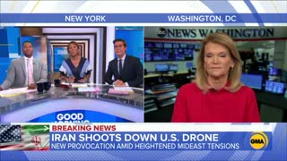 ABC News report on Iran's stunning downing of a U.S. drone