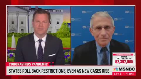 """Fauci Says He's """"Not Quite Sure"""" Why COVID Cases Dropping In Texas Despite Opening Up 100%"""