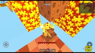 Playing Roblox Sky Wars Again!