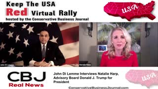 Natalie Harp UNLEASHES how Donald Trump is the Right to Try President!
