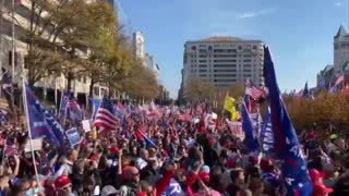 MAGA Million March, Patriots sing Star Spangled Banner