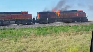 Train on Fire - Video