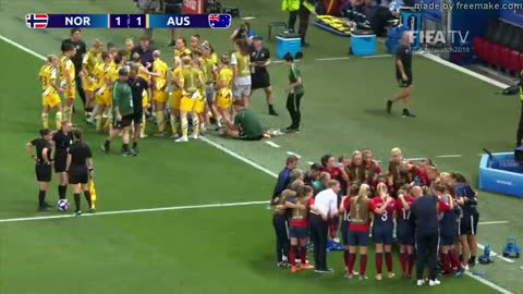 Norway v Australia - FIFA Women's World Cup, Round 16, France 2019™
