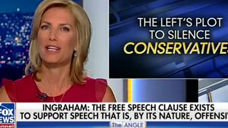 Laura Ingraham Returns From Vacation With Rousing Defense Of Free Speech - Video