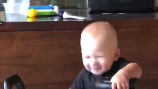 Baby hilariously headbangs to Kid Rock's 'Bawitdaba'