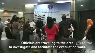 Indonesian plane crashed into mountain, says official citing locals - Video
