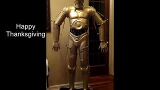 C3PO - Happy Thanksgiving Greeting