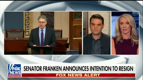 Ben Shapiro Drops Bombshell on Dana Perino: 'I'm Not Sure Franken's Really Going to Leave'