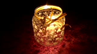 How To Make a Beautiful DIY Jar Candle - Video