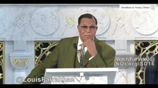 Controversial NOI Preacher Farrakhan Calls Hillary Clinton An Evil Woman - Video