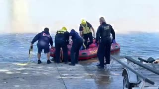 Fire Department saves woman from river