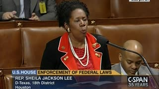 Rep. Sheila Jackson Lee Claims the Constitution is 400 Years Old - Video