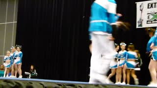 Cheerleaders, Coyotes RSC, Extreme Cheer Fest,  Montreal, - Video