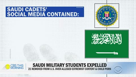 21 Saudi military students expelled from US for alleged ties to radical extremism and child porn