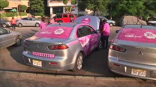 All women taxis take to Egypt's roads