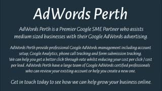 Google AdWords - Video