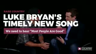 Luke Bryan's meaningful new song | Rare Country - Video