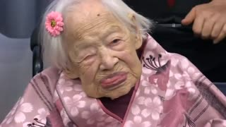 World's oldest living person celebrates 117th birthday - Video