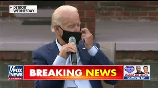 Biden Shows Us How Masks Are Important