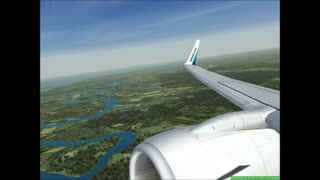 Take off from Jacksonville, FL.