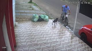 Instant Karma for Unkind Cyclist