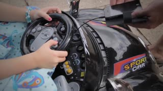 kids battery powered ride on car