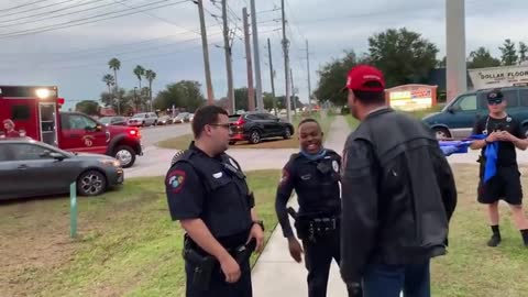 This is why you don't spit on a Trump supporter - The MAGA Light Up!