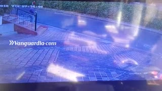 Video registró accidente en que falleció un motociclista en Floridablanca, Santander