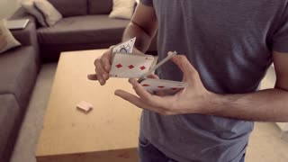 Mesmerizing card tricks are incredible to watch! - Video