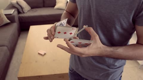 Mesmerizing card tricks are incredible to watch!