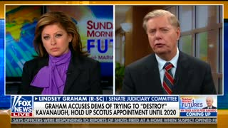 Lindsey Graham shares what drove him to stand up for Brett Kavanaugh
