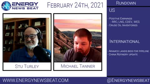 The Daily Energy News Beat Markets show 2-24 -