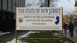 NJ Governor Phil Murphy has been legally served by the people