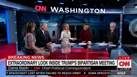 CNN Host Slams Trump Critic and Praises Him For Open Meeting to the Press — He's 'In Command'