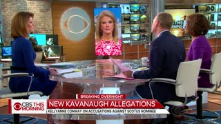 Kellyanne slams accusations against Kavanaugh as 'vast left-wing conspiracy'