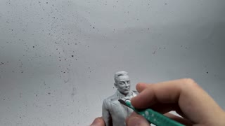 Sculpting a Tiny Elon Musk From Clay
