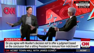 James Comey suggests Trump should be charged post-presidency