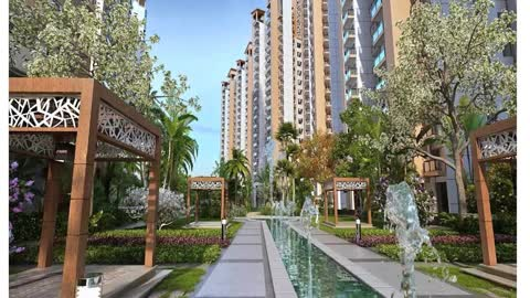 Gaur Sports Wood luxury homes sector 79 Noida