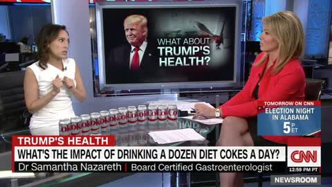 CNN Asks 'What About Trump's Health?' & Then Does Entire Segment on His Alleged Diet