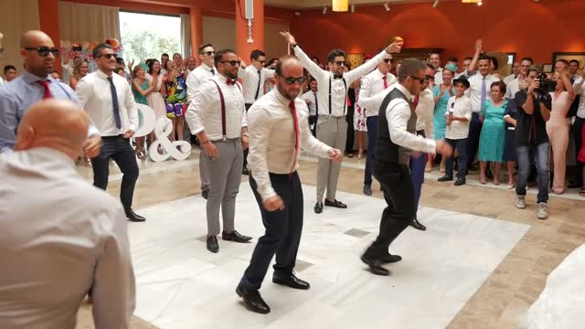 Husband And Groomsmen Deliver Surprise Performance For Bride - Video