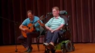 Inspiring Disabled Teen Stuns School Talent Show