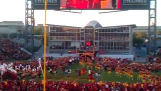 Iowa State Cyclones Football Entrance