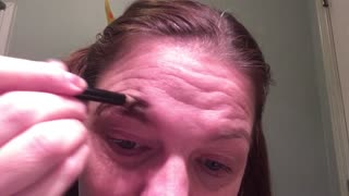 failed on doing my eyebrows  - Video
