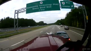 This Terrifying Dash Cam Footage Will Make Your Heart JUMP!  - Video
