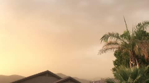 Epic Monsoon Dust Storm is on its way!