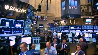 Stocks slide on Wall Street - Video