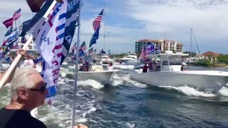 Trump Support Flotilla