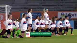 US women's soccer team wear 'Black Lives Matter' uniforms, spit on national anthem in Europe